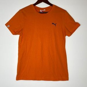 Puma Men's Orange T-shirt